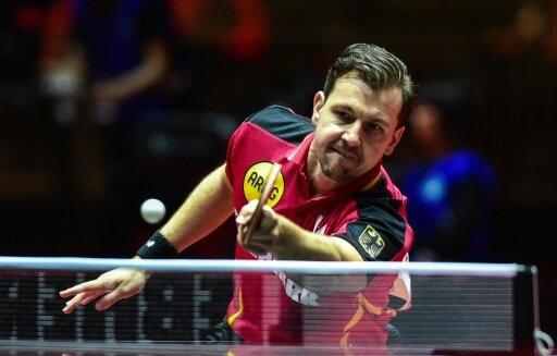 Timo Boll gewann gegen Landsmann Ovtcharov mit 4:2