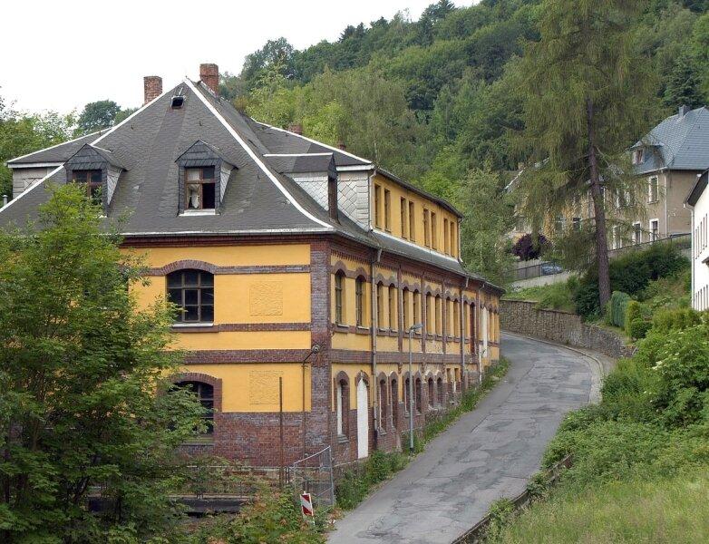 """<p class=""""artikelinhalt"""">Saxonia, die ehemalige Fabrik an der Waldschlößchenstraße in Buchholz, wirkt auf den ersten Blick gar nicht so hinfällig. Doch die Gefahren lauern im Inneren. Nun wird der Bau noch 2010 abgerissen.</p>"""