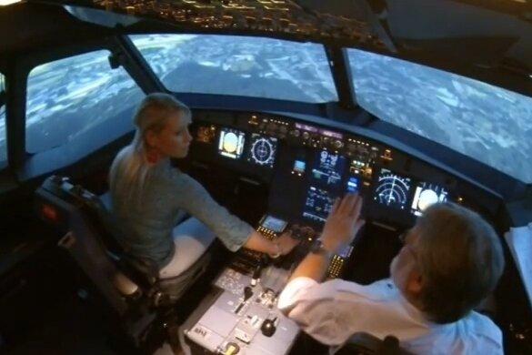 Simulierte Grenzenlosigkeit: Flugsimulator-Training in Dresden