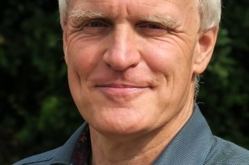 Bernhard Herrmann lebt in Grüna und will für Bündnis 90/Die Grünen in den Bundestag.