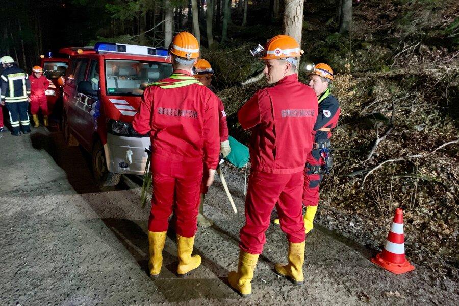 Aufwändige Rettungsaktion: Mineralienfan in Stollen verunglückt