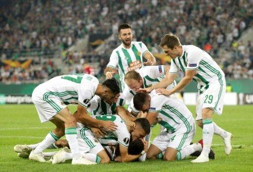 Rapid Wien gewinnt durch ein Tor in der Nachspielzeit