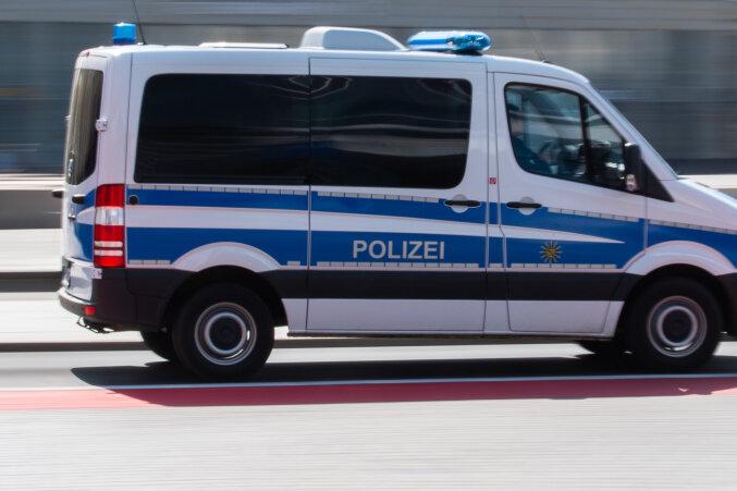 Unfall in Thum mit vier Verletzten