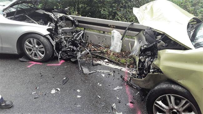 Zu einem Unfall mit mehreren Verletzten ist es am Donnerstagabend zwischen Flöha und Augustusburg gekommen.