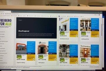 """Über Abhol- und Lieferangebote informiert die Homepage von """"Freiberg für Alle""""."""