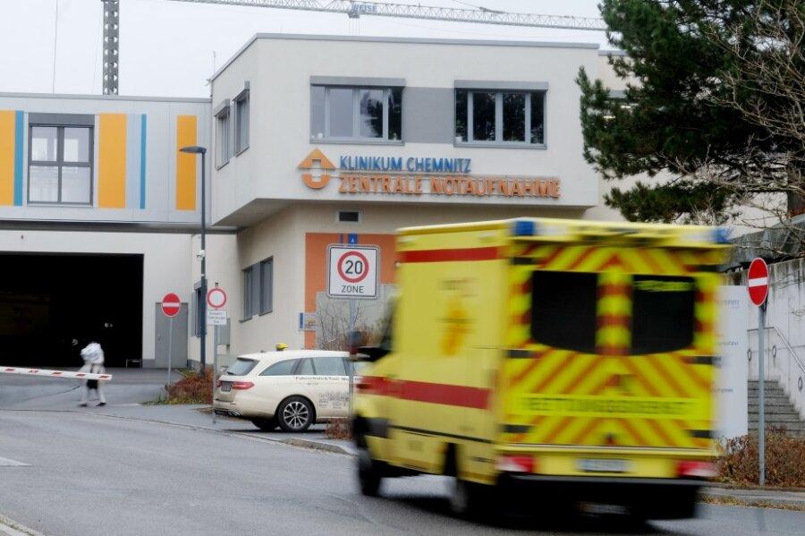 Soldaten helfen im Chemnitzer Klinikum