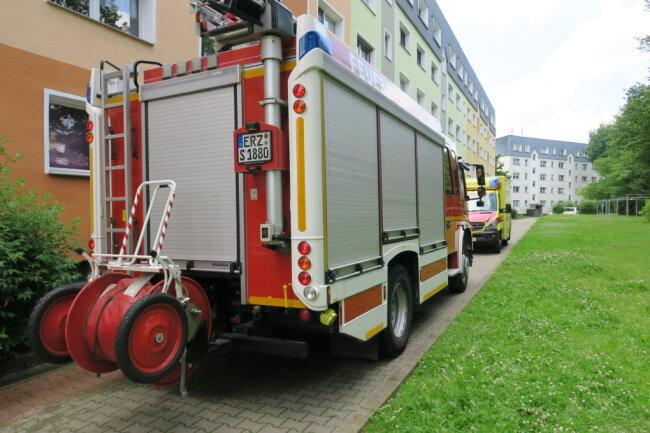 Feuerwehr, Rettungsdienst und Polizei rückten zum Keilbergring an.