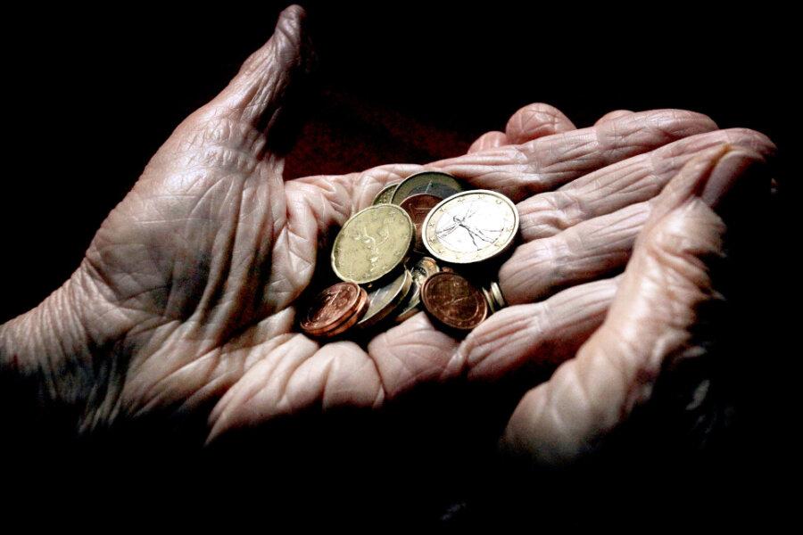 Rund 95.000 Vollzeitbeschäftigten aus der Region droht Altersarmut