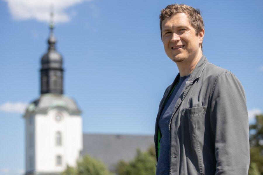 Martin Gröschel verlässt in diesem Sommer die Mildenauer Kirchgemeinde. Zehn Jahre lang hörte er fast jeden Tag die Glocken der Kirchen läuten. Nicht nur ihr Klang wird ihm fehlen.