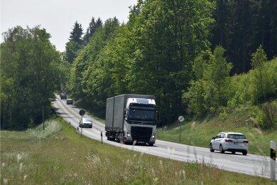 Der Hausberg vor Adorf wird im Zuge des B 92-Ausbaus eine große Herausforderung sein.