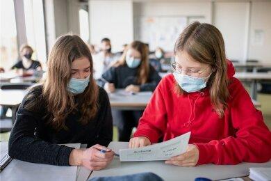 Lernen unter Coronabedingungen: Zwar sind Sachsens Schüler im Moment in den Ferien, aber wie solle es weitergehen, wenn die Schule wieder startet?