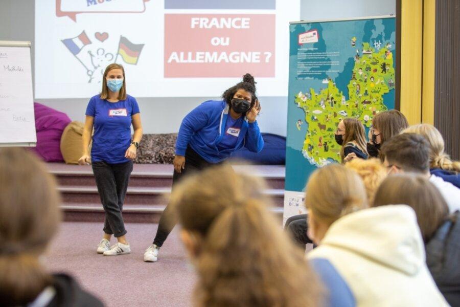 Franzosen wecken Lust auf Fremdsprache
