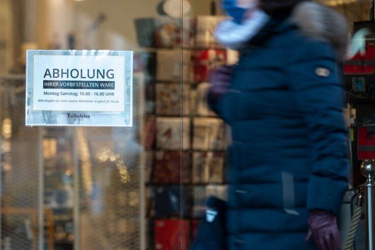 """Bestellen und Abholen (""""Click & Collect"""") im Einzelhandel ist im Vogtlandkreis erlaubt, nicht jedoch die Vereinbarung von Einzelterminen zum Vor-Ort-Shopping."""