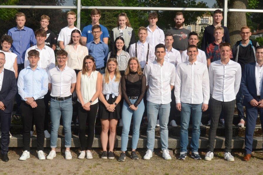 Sporthilfe beruft 41 Sportler ins Team Vogtland 2021