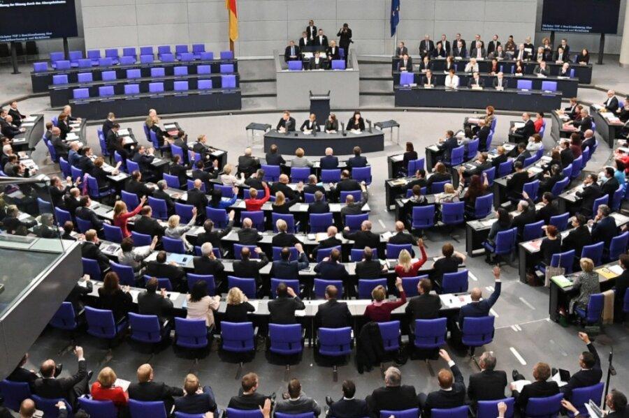 Der Plenarsaal des Bundestags. Können die Randparteien dort einen Sitz ergattern?