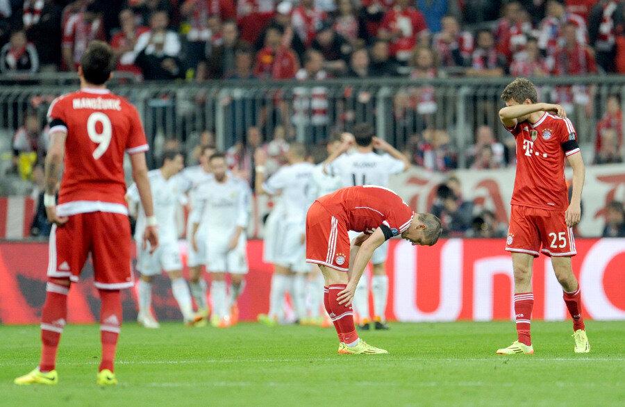 Aus der Traum vom Triple: Bayern unterliegt Madrid 0:4