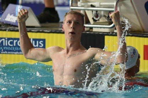 Florian Wellbrock belegt am Ende der 800 m Platz drei