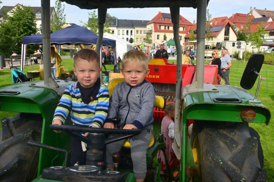 Bauernmärkte locken nach Frankenberg und auf die Rochsburg