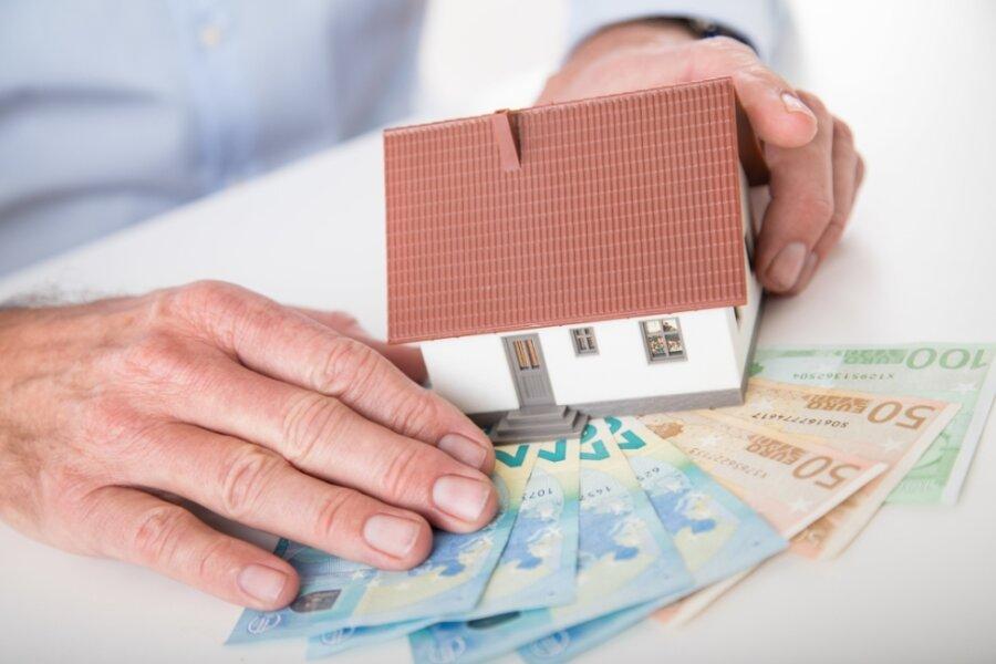 Der Finanzierung eines eigenen Hauses sollte gut unterfüttert sein.