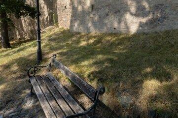 Die Stadtmauer war einst 2500 Meter lang.