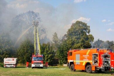 Am Mittwoch waren 122 Feuerwehrleute im Einsatz.