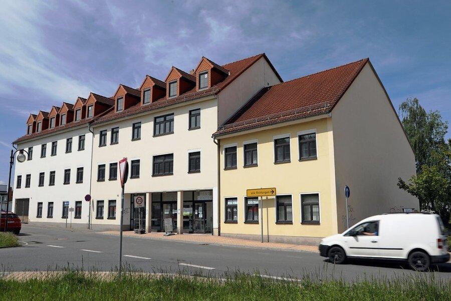 Im ehemaligen Arbeitsamt an der Hoffnung in Glauchau soll es künftig mehrere Mieter geben.