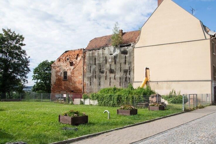 Die Freifläche an der denkmalgeschützten Brüderstraße 15 in Glauchau wechselt den Besitzer.