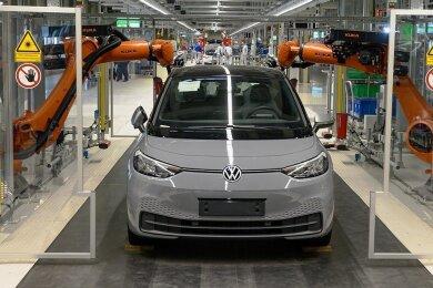 Der ID.3 wird im Zwickauer VW-Werk produziert.