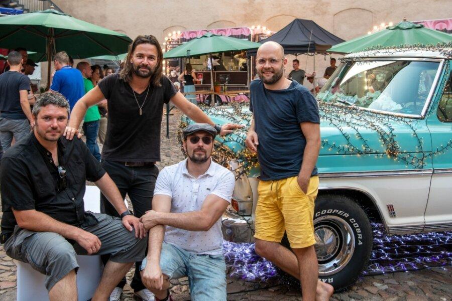 Rock-Musiker begeistern Rochlitzer Fans