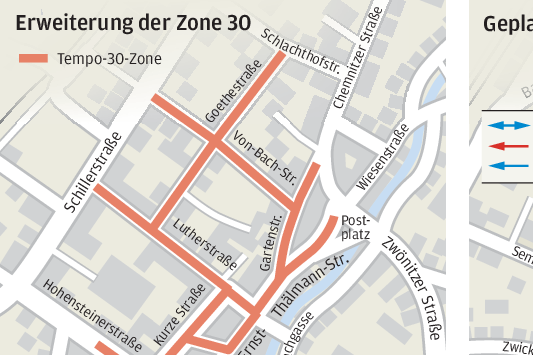Stollbergs Verkehrskonzept fordert Bürger