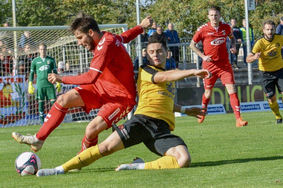 Der VfB Auerbach gewann in Meuselwitz 4:2.