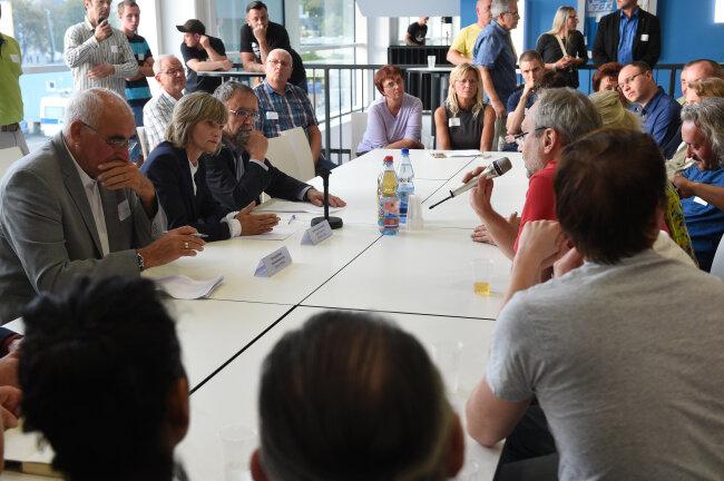 Oberbürgermeisterin Barbara Ludwig sagte: Wer Schutz sucht, darf nicht kriminell werden.