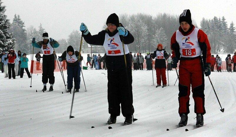 Mit Ehrgeiz und voller Konzentration stiegen die jungen Starter in die Spur zum großen Staffellauf.