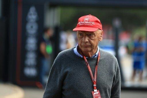 Niki Lauda befindet sich auf dem Weg der Besserung