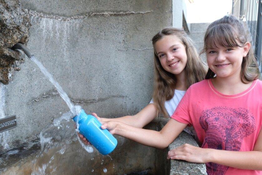 Trinkwasser-Spender sorgt für Erfrischung