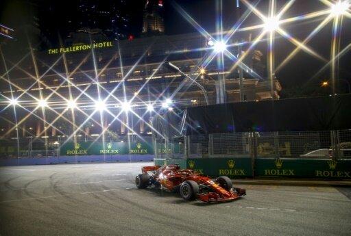 Sebastian Vettel war im dritten Training der Schnellste