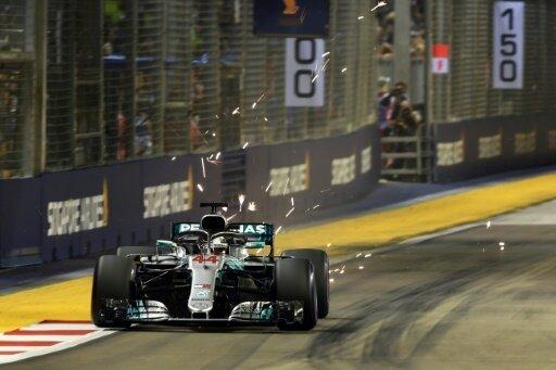 Lewis Hamilton startet in Singapur von der Pole