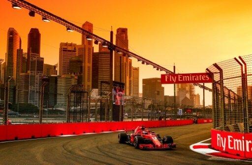 Sebastian Vettel gewann in Singapur eine Position