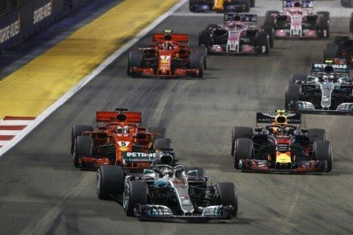 Hamilton hat den Großen Preis von Singapur gewonnen