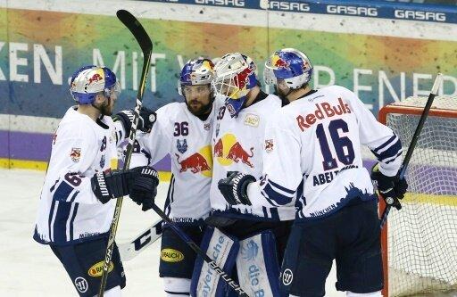 Red Bull München holte auch im zweiten Spiel einen Sieg
