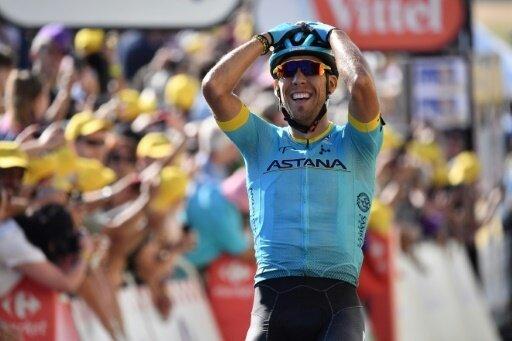 Omar Fraile gewinnt die 14. Etappe der Tour
