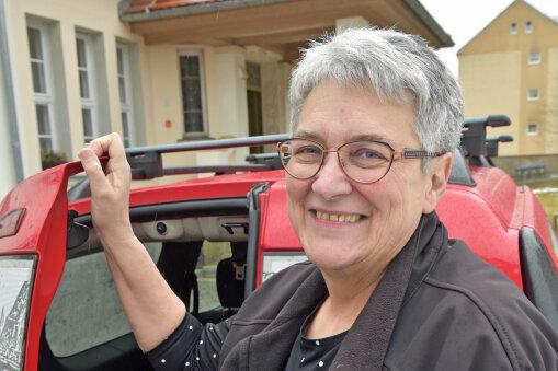 Constanze Ulbricht - Leiterin der Baldauf-Villa Marienberg