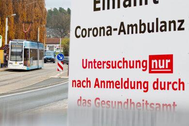 Die Corona-Ambulanz am Plauener Helios-Klinikum Vogtland ist eine zentrale Anlaufstelle.