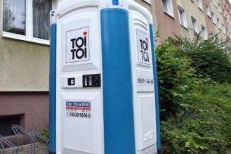 Erneut Dixi-Toilette gesprengt