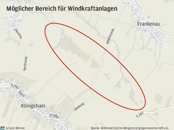 Windrad-Projekt trifft auf Bürgerprotest