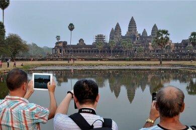 Angkor Wat zieht jedes Jahr rund zwei Millionen Besucher an.