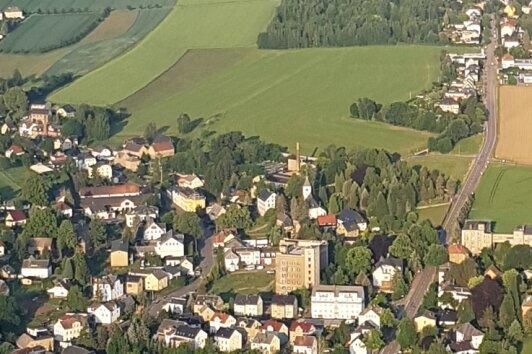 Blick auf einen Teil von Taura. Für das Dorf mit dem Ortsteil Köthensdorf soll ein Dorfentwicklungskonzept erstellt werden.