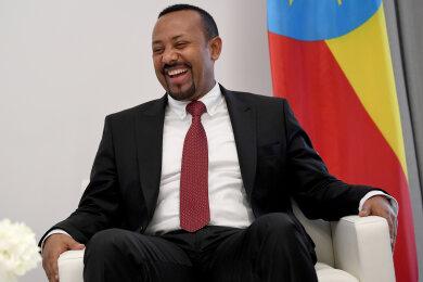 Abiy Ahmed, Ministerpräsident von Äthiopien.