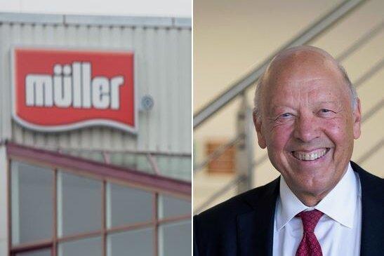 Kontroverse um sächsischen Verdienstorden für Müllermilch-Chef Theo Müller