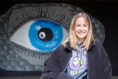 Svea Röder von der Jugendstimme Flöha ist Schülerin am Pufendorf-Gymnasium und geht mit offenen Augen durchs Leben.